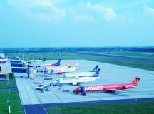 De kommersiella flygresornas historia